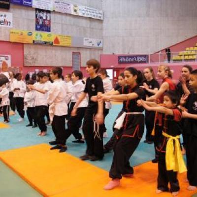 Championat régional vaulx en velin 20 février 2011 Technique et Sanda